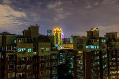 Πολυκατοικία 8 πολυόροφων κτιρίων της Σαγκάη στοκ φωτογραφίες με δικαίωμα ελεύθερης χρήσης