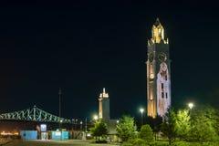Πολυμέσα πύργων ρολογιών του Μόντρεαλ στοκ εικόνα με δικαίωμα ελεύθερης χρήσης