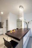 πολυτέλεια κουζινών σχ&eps Στοκ Φωτογραφίες