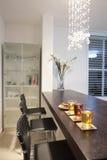 πολυτέλεια κουζινών σχ&eps Στοκ Φωτογραφία