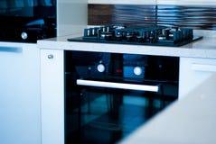 πολυτέλεια κουζινών σύγχρονη Στοκ φωτογραφία με δικαίωμα ελεύθερης χρήσης