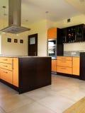 πολυτέλεια κουζινών Στοκ εικόνα με δικαίωμα ελεύθερης χρήσης