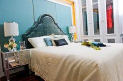 πολυτέλεια κρεβατοκάμ&al Στοκ Εικόνα
