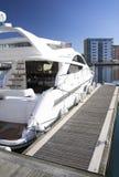 πολυτέλεια ταχύπλοων σκαφών Στοκ φωτογραφία με δικαίωμα ελεύθερης χρήσης