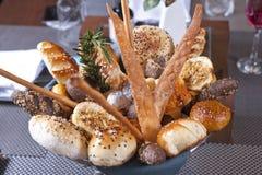 πολυτέλεια ψωμιού καλαθιών Στοκ Φωτογραφίες