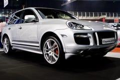 πολυτέλεια mph Porsche του Cayenne gts suv στοκ φωτογραφία