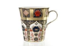 πολυτελές τσάι φλυτζαν&iot Στοκ Εικόνα