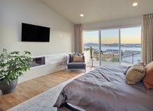 Πολυτελής κρεβατοκάμαρα Στοκ εικόνες με δικαίωμα ελεύθερης χρήσης