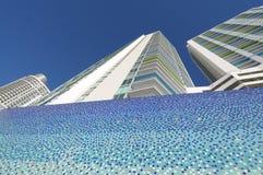 πολυόροφο κτίριο Μαϊάμι κτ Στοκ Φωτογραφίες
