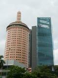 πολυόροφο κτίριο Σινγκαπούρη Στοκ Φωτογραφία