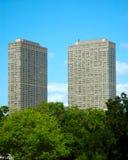 πολυόροφο κτίριο συγκ&upsil στοκ φωτογραφία