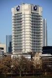Πολυόροφο κτίριο Φρανκφούρτη επένδυσης ένωσης Στοκ Φωτογραφία