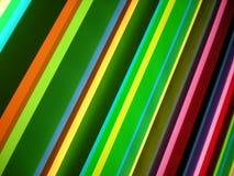 Πολυ ανασκόπηση προτύπων λωρίδων χρώματος Στοκ φωτογραφίες με δικαίωμα ελεύθερης χρήσης