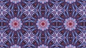 Πολυ σχέδιο καλειδοσκόπιων χρώματος με τον αφηρημένο σταυρό απεικόνιση αποθεμάτων