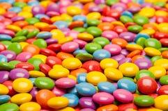 Πολυ χρωματισμένες καραμέλες Στοκ εικόνα με δικαίωμα ελεύθερης χρήσης