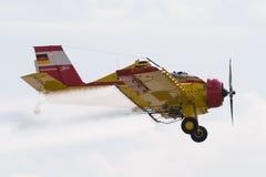 Πολωνικά γεωργικά αεροσκάφη pzl-106 Kruk Στοκ εικόνα με δικαίωμα ελεύθερης χρήσης