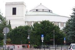 Πολωνικό κτήριο των Κοινοβουλίων στοκ φωτογραφίες με δικαίωμα ελεύθερης χρήσης