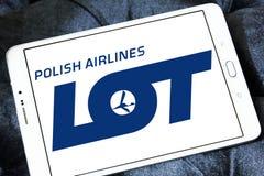 Πολωνικό λογότυπο αερογραμμών ΜΕΡΩΝ Στοκ Φωτογραφία