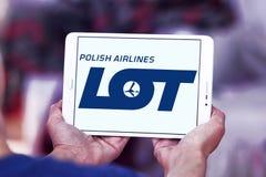 Πολωνικό λογότυπο αερογραμμών ΜΕΡΩΝ Στοκ φωτογραφία με δικαίωμα ελεύθερης χρήσης