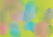 πολύγωνο ανασκόπησης Στοκ εικόνα με δικαίωμα ελεύθερης χρήσης