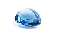 πολύτιμος λίθος aquamarine Στοκ Εικόνες
