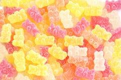 πολύχρωμα γλυκά ζελατίνας στοκ εικόνες