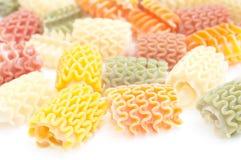 πολύχρωμα ζυμαρικά Στοκ φωτογραφίες με δικαίωμα ελεύθερης χρήσης
