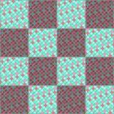 Πολύχρωμα κεραμικά κεραμίδια μωσαϊκών Μίμηση των μικρών κομματιών του γυαλιού ελεύθερη απεικόνιση δικαιώματος