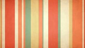 Πολύχρωμα λωρίδες 51 Paperlike άνετος Verticals Grunge τηλεοπτικός βρόχος υποβάθρου του //4k 60fps διανυσματική απεικόνιση