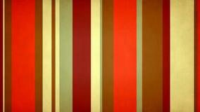 Πολύχρωμα λωρίδες 56 Paperlike του //4k 60fps θερμός χρώματος βρόχος υποβάθρου φραγμών τηλεοπτικός ελεύθερη απεικόνιση δικαιώματος