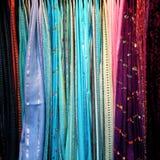 πολύχρωμα μαντίλι Στοκ φωτογραφία με δικαίωμα ελεύθερης χρήσης