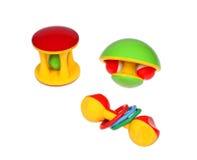 πολύχρωμα παιχνίδια Στοκ Φωτογραφία