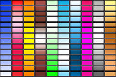 πολύχρωμα πρότυπα Στοκ φωτογραφίες με δικαίωμα ελεύθερης χρήσης