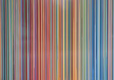 Πολύχρωμα σύγχρονα κάθετα παράλληλα λωρίδες διανυσματική απεικόνιση