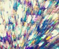 Πολύχρωμα φωτεινά κύματα που χορεύουν γύρω από την ατμόσφαιρα Στοκ Εικόνα