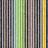 Πολύχρωμη γραμμή ουράνιων τόξων λωρίδων ριγωτή γεωμετρικός δονούμενος διανυσματική απεικόνιση