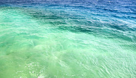 πολύχρωμη θάλασσα στοκ εικόνα