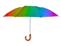 πολύχρωμη ομπρέλα Στοκ Φωτογραφία