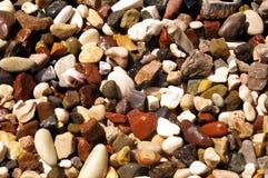 πολύχρωμη πέτρα ανασκόπηση&sig Στοκ Εικόνα