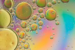 Πολύχρωμη psychedelic περίληψη επίδρασης ουράνιων τόξων στοκ εικόνα με δικαίωμα ελεύθερης χρήσης