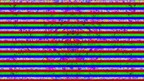 Πολύχρωμος θόρυβος TV, δυναμικό ντεμοντέ ονειροπόλο ακτινοβολώντας υπόβαθρο απεικόνιση αποθεμάτων