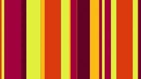 Πολύχρωμος λωρίδων 4k δονούμενος ριγωτός βρόχος @60fps υποβάθρου σχεδίων τηλεοπτικός διανυσματική απεικόνιση