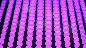 Πολύχρωμος μεταβαλλόμενος φωτισμός φω'των Θολωμένη άποψη φιλμ μικρού μήκους
