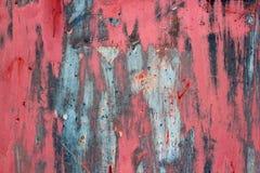 Πολύχρωμος τοίχος grunge, ιδιαίτερα λεπτομερής κατασκευασμένη περίληψη υποβάθρου Λεκέδες, χρώμα ψεκασμού εύθυμο υπόβαθρο διασκέδα Στοκ Εικόνες