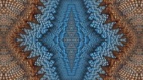Πολύχρωμο αφηρημένο συμμετρικό υπόβαθρο για την εκτύπωση στο clothin Στοκ Εικόνα