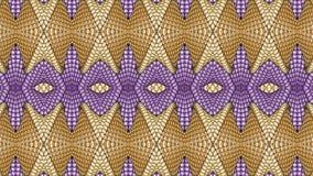 Πολύχρωμο αφηρημένο συμμετρικό υπόβαθρο για την εκτύπωση στο clothin Στοκ Εικόνες