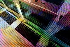 πολύχρωμο δίκτυο ανασκόπ& Στοκ Φωτογραφίες