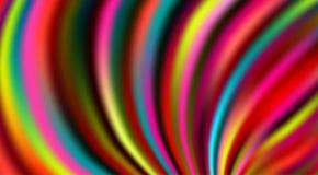 Πολύχρωμο εορταστικό υπόβαθρο με τα φωτεινά θολωμένα χρώμα λωρίδες ελεύθερη απεικόνιση δικαιώματος