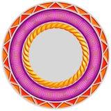πολύχρωμο κεραμίδι πλαι&sigm Διανυσματική απεικόνιση