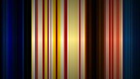 Πολύχρωμο κινούμενο και μεταβαλλόμενο ριγωτό υπόβαθρο χρώματος φιλμ μικρού μήκους